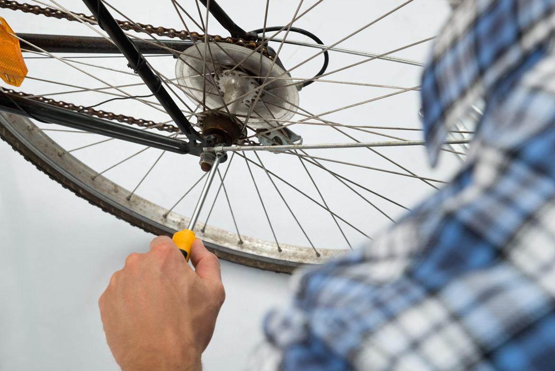 Come organizzare una ciclofficina