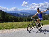 Giro del Latemar in MTB in senso antiorario